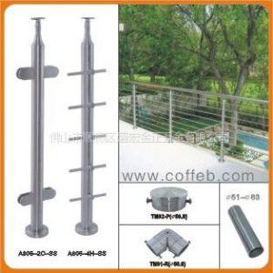 供应不锈钢楼梯护栏扶手,扶手立柱,COFFEB扶手