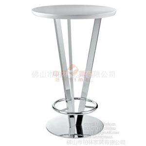 供应玻璃钢酒吧桌 KTV高吧桌 时尚酒吧桌 不锈钢吧桌