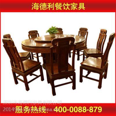 厂家直销 餐厅实木家具 方形餐桌椅组合 进口实木餐桌