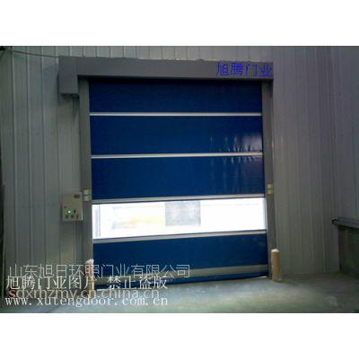 供应青岛地磁高堆积门,pvc透明堆积门,拉绳堆积门