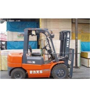 供应浙江温州二手叉车出售3吨叉车价格表,合力叉车代理商电话报价13718136606