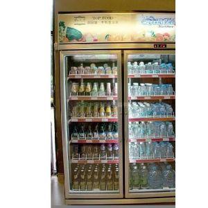 供应深圳连锁便利店双门立式饮料展示柜