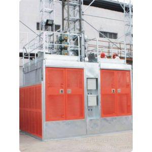 供应五丰钢业供应特威 SC100系普通 齿轮齿条驱动施工升降电梯
