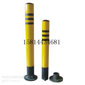 供应上锁的不锈钢钢管地桩|路桩挡车柱多少钱?