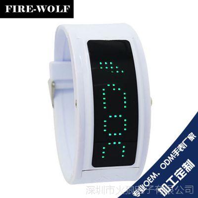 专业批发供应韩版潮流女生学生手表 深圳LED电子手表生产厂家