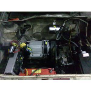 供应千里马电动教练车,桑塔纳教练车改装电动,捷达改电动车