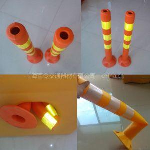 供应PVC弹性分道柱 警示柱