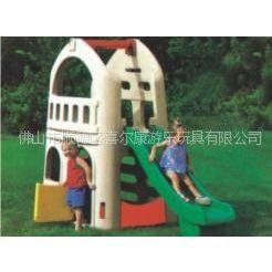 供应喜尔康塑料拼装滑梯73-011