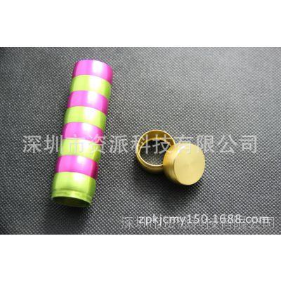 厂家低价批发彩色mini/轻巧便携式金属圆柱体形2600毫安移动电源