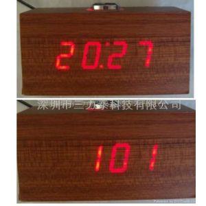 供应供应时间日期木头钟IC