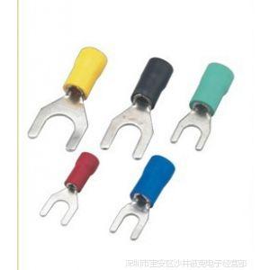 供应冷压接线端子叉形预绝缘端头SV2-4铜线耳铜鼻子1000只