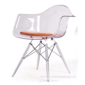 供应伊姆斯压克力休闲椅 时尚椅子 宜家必备餐椅 来图可订制