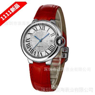 厂家热销韩式手表 罗马进口手表时尚皮带女士手表 女式表石英手