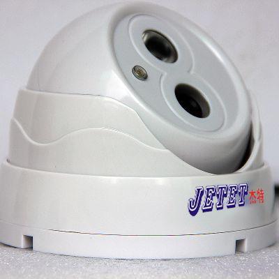 供应迪杰特JT-21700WB 海螺半球型安防监控红外摄像机 139方案800线单灯