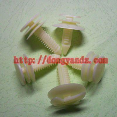 供应塑料连接件紧固件固定扣 顶棚卡扣 塑料铆钉