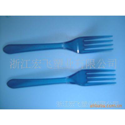 供应一次性塑料叉子(彩色)(图)