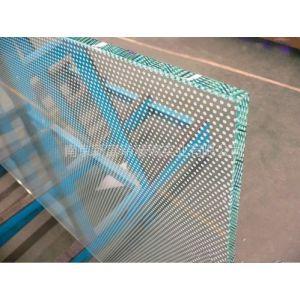 供应丝印玻璃  彩釉玻璃