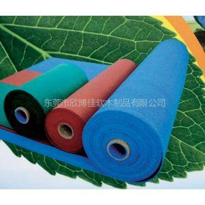 欣博佳供应幼儿园彩色橡胶软木垫 80X80cm
