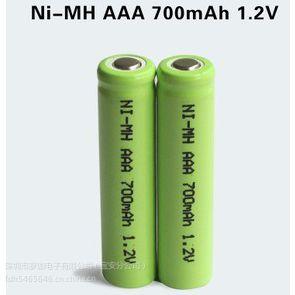 供应供应电池、AA 5号 镍氢电池 NI-MH AA700MAH 1.2V太阳能电池