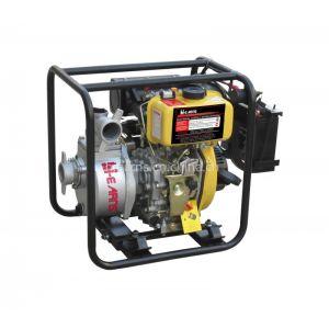 供应2寸柴油高压水泵,红色,电启动带电瓶