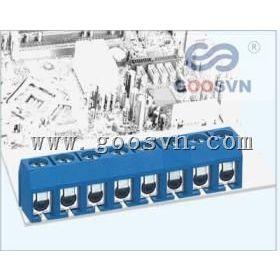 供应PCB接线端子蓝色直针弯针