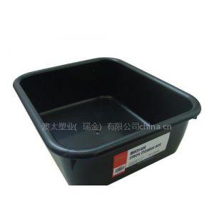 供应10L黑色储物盒底