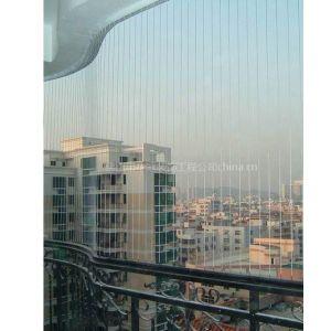 供应佛山隐形防护网安装 不锈钢防盗网 阳台防护网制作安装电话:15813409606王先生