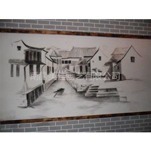 供应上饶 德兴 婺源 广丰 玉山学校校园围墙文化墙彩绘手绘涂鸦壁画供应!