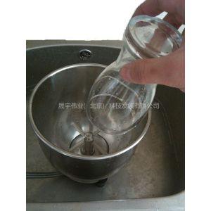 供应不锈钢桶式洗杯器 奶缸冲洗槽 酒吧喷水滴水盘 免清洗洗杯机
