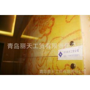 供应UV打印不褪色玻璃画 龙图 九龙图 背景墙 电视墙 装饰墙