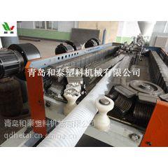 青岛和泰塑机 SJ-65 塑料波纹管设备 pe管生产线 波纹管生产设备 塑料管挤出机