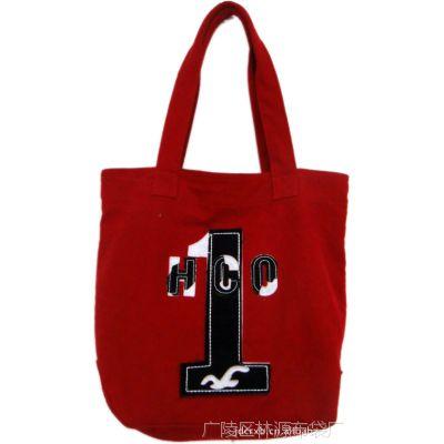 超级计划 环保包系列帆布包女包 黑色字母 可批发 量大从优