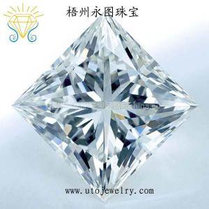 供应永图珠宝直销AAA级白色锆石CZ 人造宝石裸石