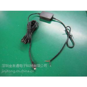 供应安卓系统记录仪micro降压线 车充充电器 5V 1.5A负载 电瓶低压断电保护