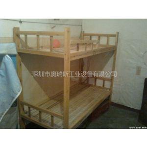 供应厂家定做学生宿舍木床/双层木床/深圳木床厂家