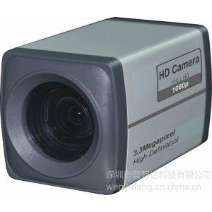 供应远程教学录播教室专用HD-SDI高清变倍一体化枪式摄像机 中文菜单 20倍变焦 看全景专用