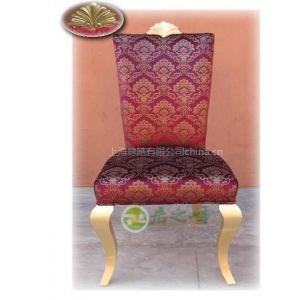 供应【尊皓家具】F-A4-003现代简欧/家具设计品牌定制/时尚餐椅