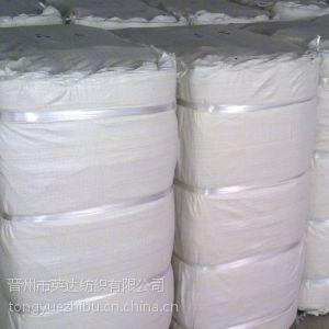 供应涤棉 全涤化纤24*24 80*60坯布涤平工装面料