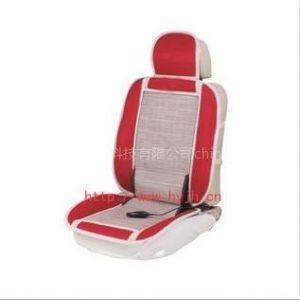 供应外贸出口汽车通风按摩坐垫/红色三明治座垫/车用空调凉垫