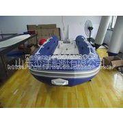 供应3.6米玻璃钢折叠地板鱼艇/充气艇/橡皮艇