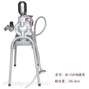 供应恒川2分隔膜泵 气动隔膜泵 喷漆设备 气动工具