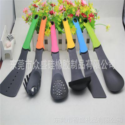 新款食尚彩色 尼龙厨具 六件套 多功能烹饪勺铲