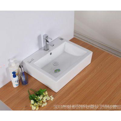ARROW箭牌台上盆艺术盆洗手盆方型智洁面质量保证承接OEM实惠