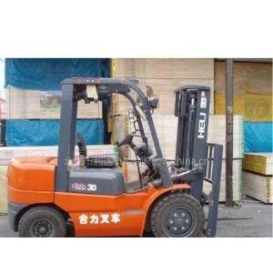 供应哈尔滨二手叉车交易市场,急卖3台2011年产新合力叉车出厂价格低