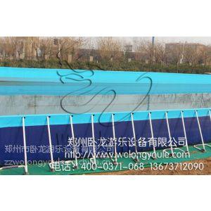供应框架游泳池价格 移动水池生产厂家 移动平台游泳池