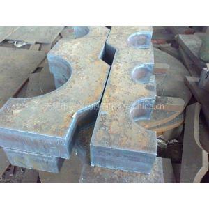 通化Q235钢板切割配重块 厚板下料压重块