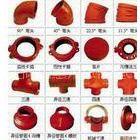 供应沟槽管件,三通弯头卡箍,福建天广闽山消防器材