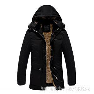 供应万件现货  男装新品加绒男士棉服新款男式棉衣棉袄 男冬装外套