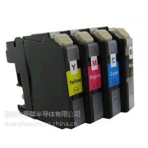 供应Brother兄弟日本版MFC-4510N/J4210N墨盒芯片LC117BK/115C/M/Y