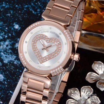批发供应热卖款瑞士进口石英 时尚休闲经典镶钻女士手表爆款批发